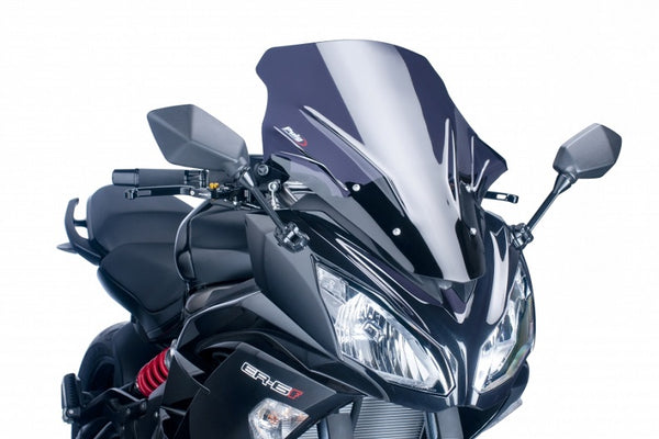 Puig Racing Windscreen for 2012-2015 Kawasaki Ninja 650