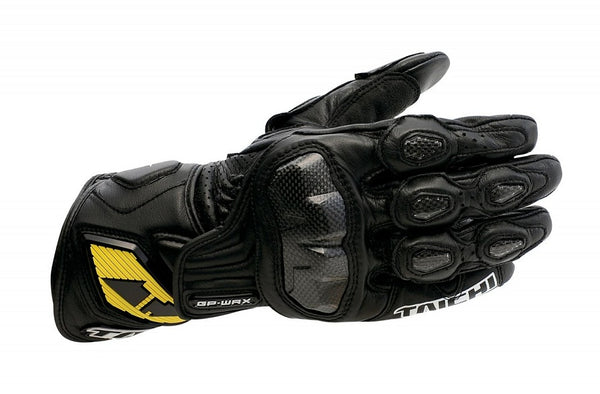 RS Taichi NXT047 GP-WRX Racing Leather Gloves Black