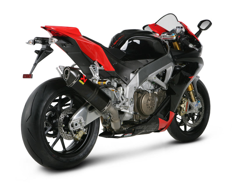 Akarapovic Slip On Line (Carbon) OPEN Exhaust System '09-'14 Aprilia RSV4, '11-'14 Tuono V4