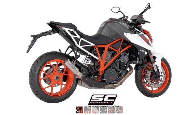 SC Project CR-T Muffler Slip-on Exhaust System '17-'19 KTM 1290 Super Duke R