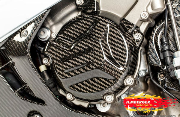 ILMBERGER Carbon Fiber Engine Cover (Alternator) '09-'16 BMW S1000RR/HP4, '14-'16 S1000R