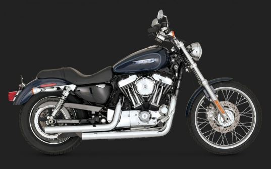 Vance & Hines Straightshots Full Exhaust System for 2004-2013 Harley-Davidson Sportster