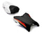 LuiMoto Raven Edition Seat Covers 2006-2013 Yamaha FZ1 - Cf Black/Cf Red/Cf White Red/Cf White
