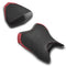 LuiMoto Anniversary Edition Seat Cover 06-07 Yamaha YZF-R6 - Cf Black/Deep Red