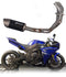 Graves Motorsports Full Stainless Steel Low Mount Exhaust System for Yamaha R1 - 2009, 2010, 2011, 2012, 2013, 2014 | Motostarz Canada