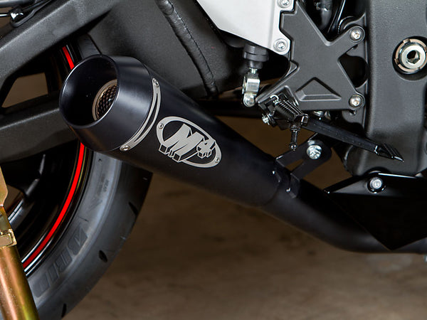 M4 GP Black Slip-on Exhaust System '11-'15 Kawasaki ZX10R