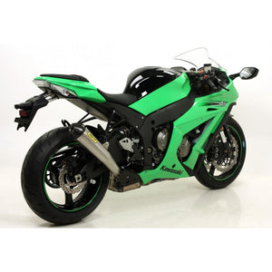 ARROW Pro-Racing Slip-on Exhaust System 2011-2012 Kawasaki Ninja ZX10R