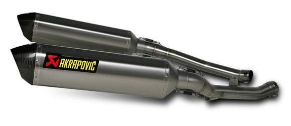Akrapovic Hex Slip-On Street Legal Exhaust System 2008-2011 Kawasaki ZX14R / ZZR1400