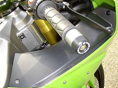 R&G Racing Bar End Sliders For Kawasaki