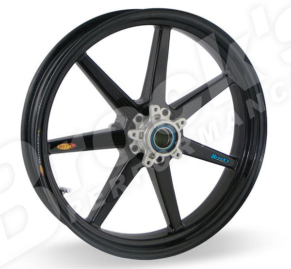 "BST 3.5"" x ""17 Carbon Fiber Front Wheel for Ducati 848, 1098/S/R, 1198, Streetfighter"
