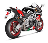 Akarapovic Slip On Line (Carbon) OPEN Exhaust System 2015-2016 Aprilia RSV4 | S-A10SO68-ZC
