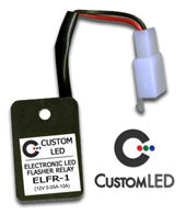 "Custom LED Electronic LED Flasher Blinker Relays - Plug & Play ""No Load"""