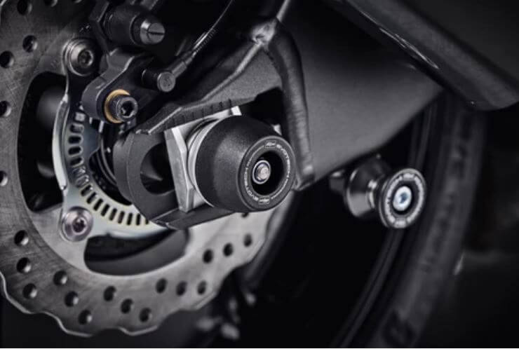 Evotech Performance Rear Axle Sliders/Spindle Bobbins '19-'20 ZX-6R