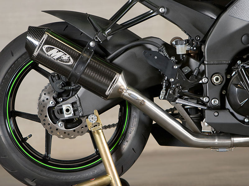 M4 Standard Carbon Full Stainless Steel Exhaust System for 2008-2010 Kawasaki ZX10R