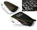 LuiMoto Tribal Blade Seat Cover 07-12 Honda CBR600RR - Sp Black/Brown/White