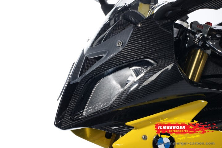 ILMBERGER Carbon Fiber Front Fairing (One Piece) 2009-2014 BMW S1000RR/HP4 | VEO.001.S100S.K