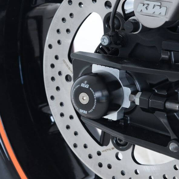 R&G Racing Swingarm Protectors for '18-'19 KTM 790 Duke