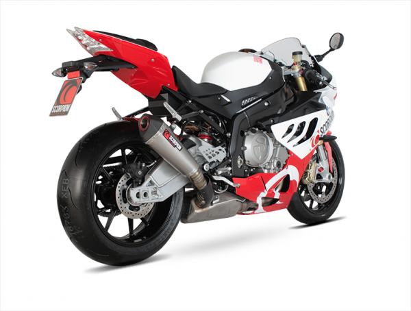 Scorpion Serket Taper Slip-on Exhaust System 2009-2012 BMW S1000RR