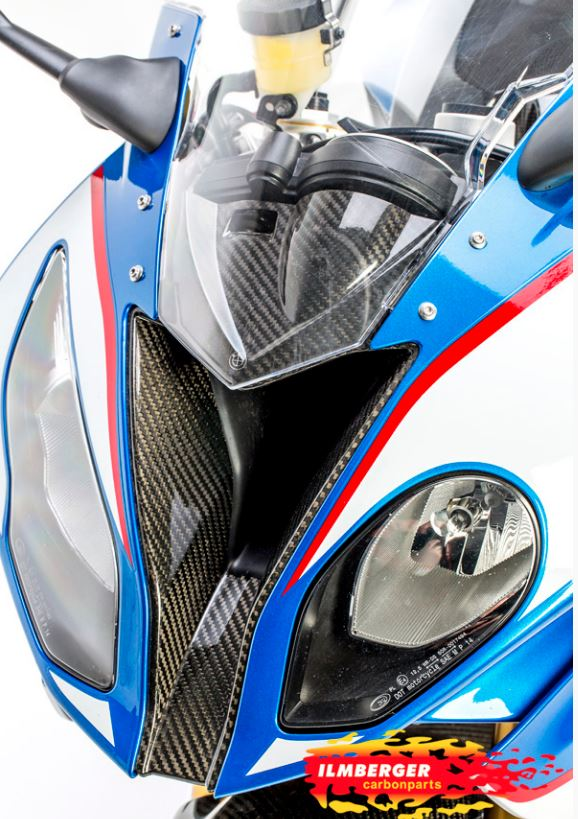 ILMBERGER Carbon Fiber Air Intake Front Fairing Centre '15-'18 BMW S1000RR