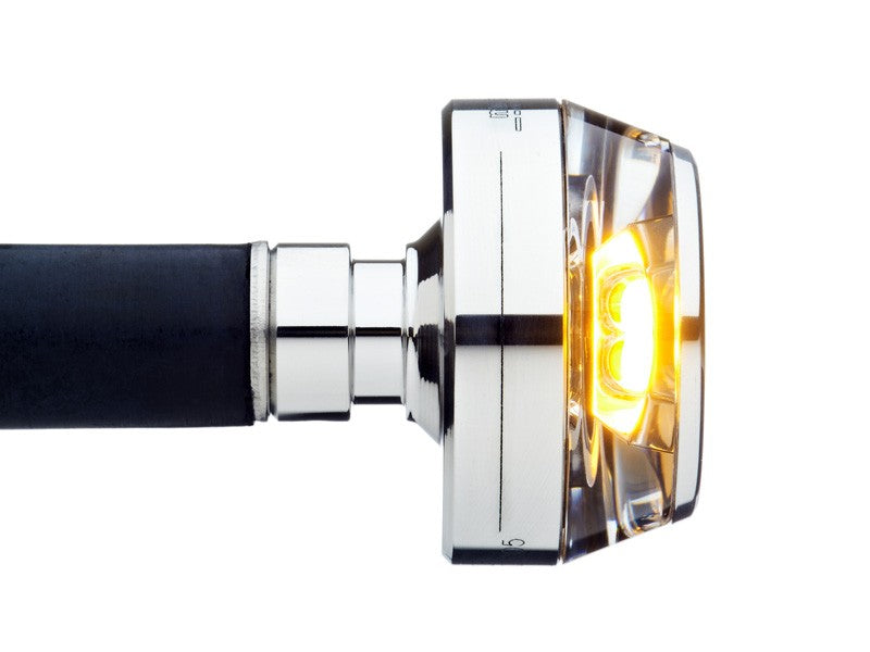 Motogadget m-Blaze Disc - Bar End LED Turn Signal (Each)