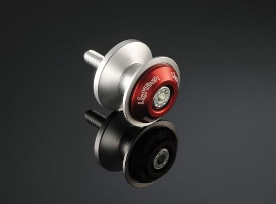LighTech Anti-Scratch Swingarm Spools (Pair) | Red
