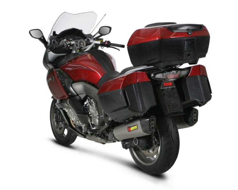 Akrapovic Slip-On Line (Titanium) EC Type Approval Exhaust Systems For '11-'20 BMW K1600GT/GTL