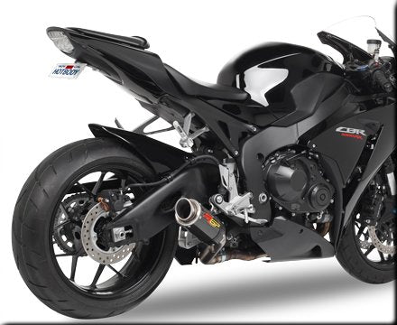 Hotbodies Racing MGP Growler Carbon Slip-on Exhaust System 2008-2012 Honda CBR1000RR