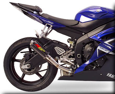 Hotbodies Racing MGP Growler Carbon Slip-on Exhaust System 2006-2013 Yamaha R6
