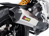 Akrapovic Slip-On Line (Titanium) EC Type Approval Exhaust System 2015-2017 Ducati Multistrada 1200/S | S-D12SO7-HHX2T