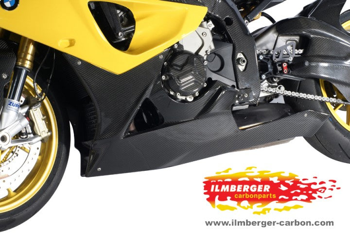 ILMBERGER Carbon Fiber Lower Fairing / Belly Pan 2009-2012 BMW S1000RR