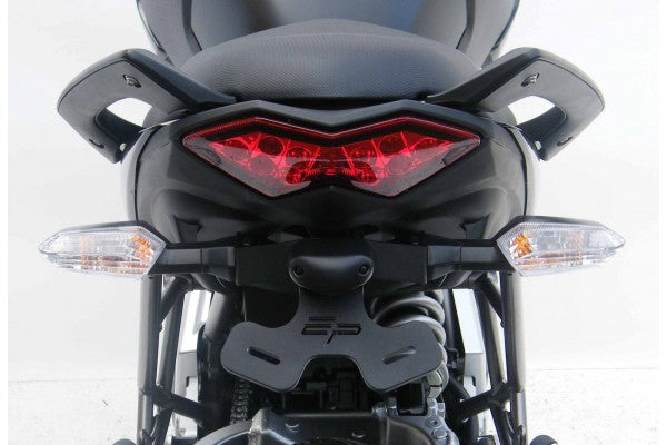 Evotech Performance Tail Tidy / License Plate Holder 2010-2014 Kawasaki Versys 650