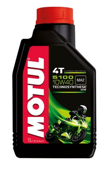 Motul 5100 4T Ester Synthetic Motor Oil | 1L