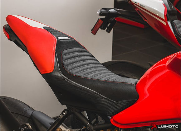 LuiMoto Corsa Seat Covers 2016-2017 Ducati Monster 1200R