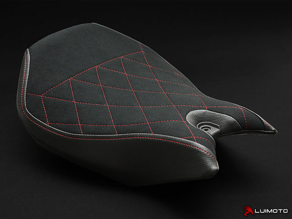 LuiMoto Diamond Edition Rider Seat Covers for 2015 Ducati Panigale 1299