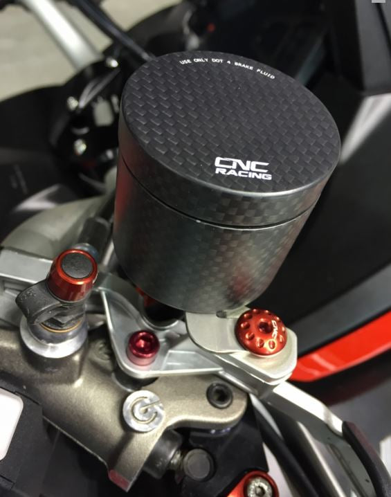 CNC Racing Carbon Fiber 25ml Brake / Clutch Fluid Tank Reservoirs