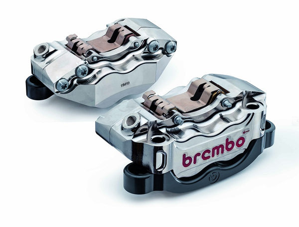 Brembo High Performance 136mm Nickel Radial Caliper Kit for '07-'11 Yamaha YZF R1, '07-'11 MT-01
