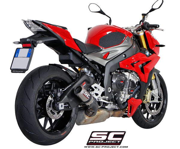SC Project CR-T Slip-On Exhaust '10-'15 BMW S1000RR/HP4, '14-'16 S1000R
