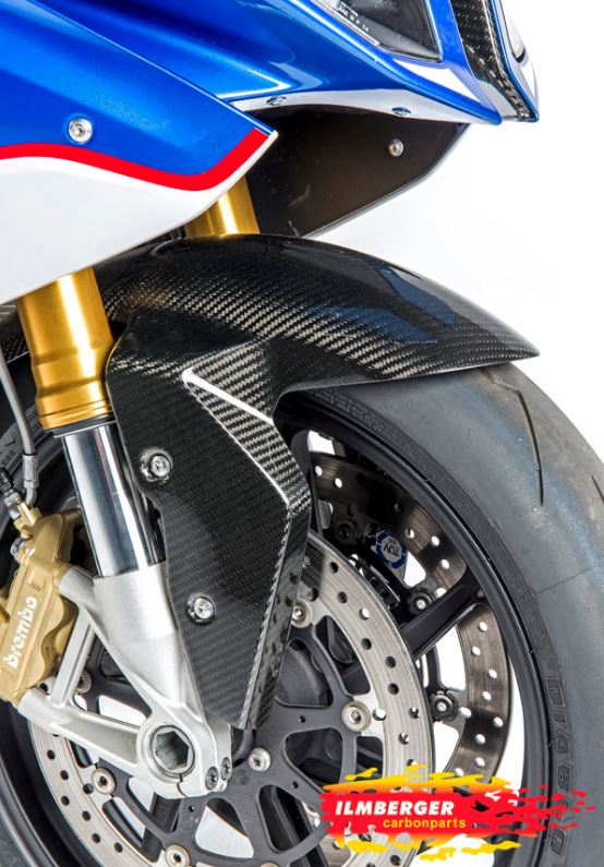 ILMBERGER Carbon Front Fender '10-'18 BMW S1000RR/HP4, '14-'19 S1000R, '15-'19 S1000XR