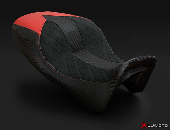 LuiMoto Diamond Edition Seat Covers For 2015 Ducati Diavel