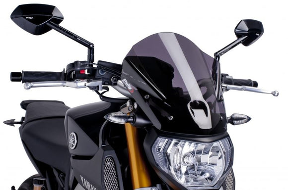 Puig Touring Windscreens For 2013-2015 Yamaha FZ-09 / MT-09