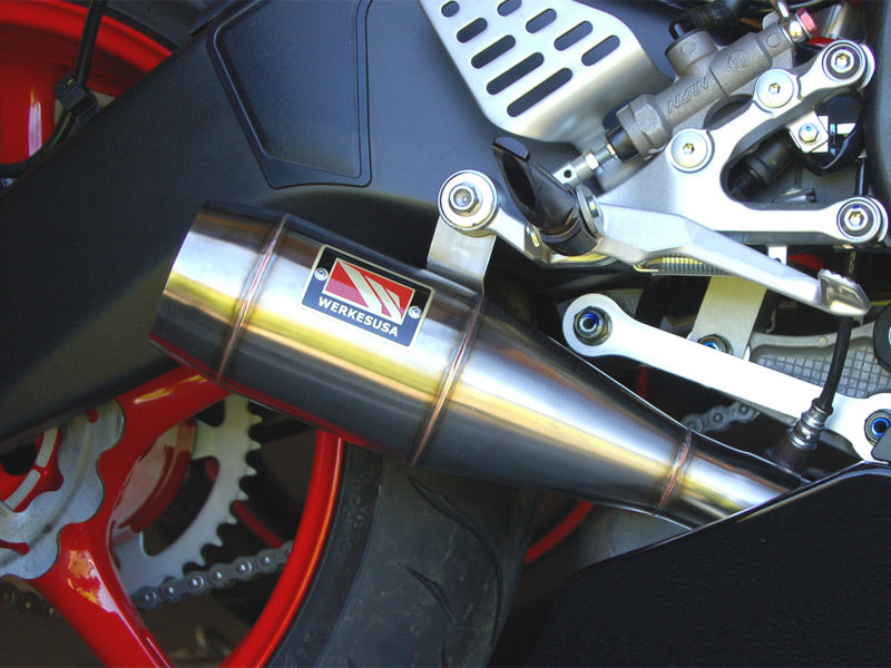 Competition Werkes GP Stainless Steel Slip-on Exhaust 2006-2012 Yamaha YZF R6