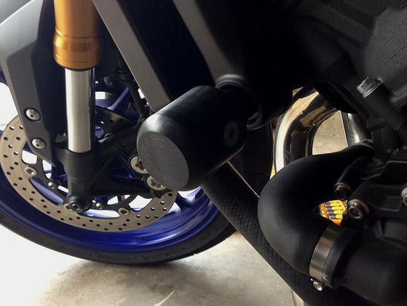 Woodcraft Frame Slides (puck included) for '14-'18 Yamaha MT-09/FZ-09, '15-'18 FJ-09, '16-18 XSR 900