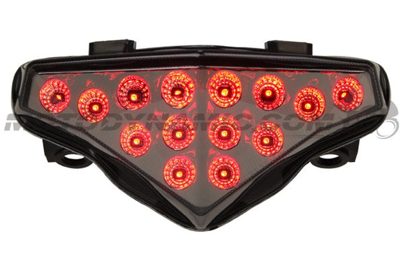Motodynamic Sequential LED Tail Light for 2012-2015 Kawasaki Ninja 650 / ER-6N