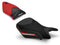 LuiMoto Technik Edition Seat Cover 2012-2014 BMW S1000RR - Cf Black/Black/Red