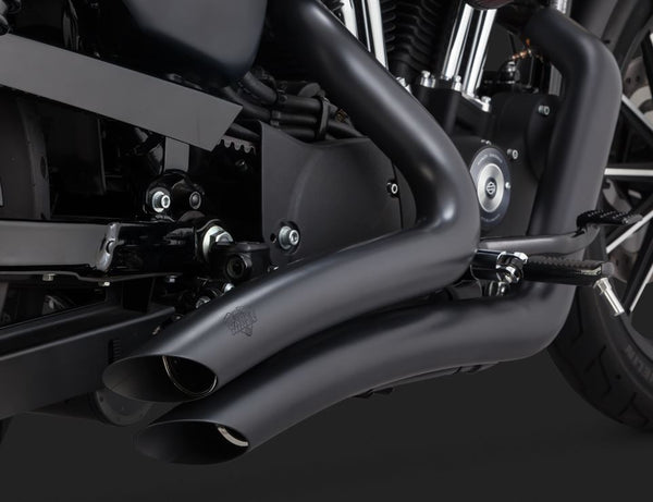 Vance & Hines Big Radius Series 2-Into-2 Full Exhaust System for 2014-2015 Harley-Davidson Sportster