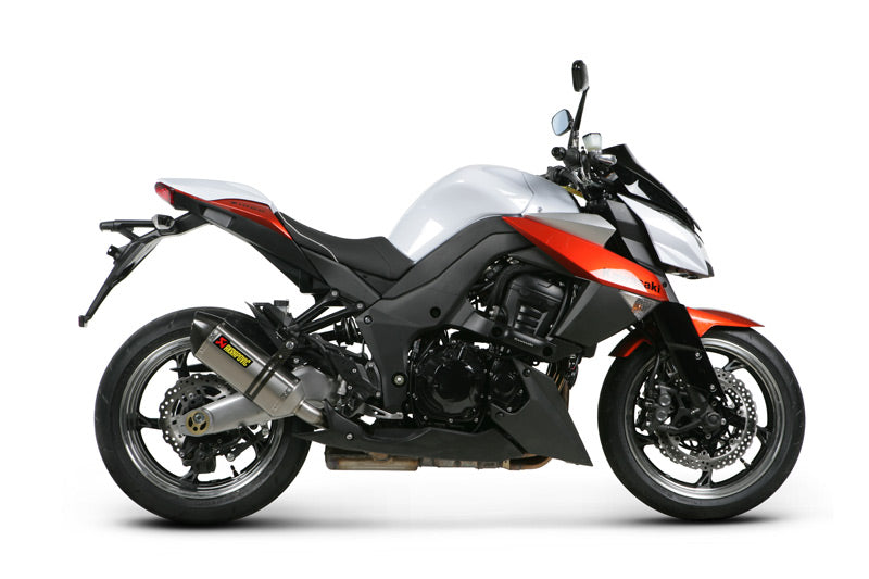 Akrapovic Slip-On Line EC Type Approval Exhaust System For 2010-2013 Kawasaki Z1000 / SX