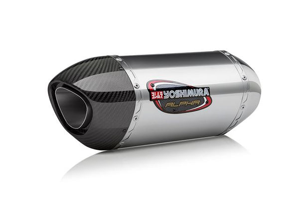 Yoshimura Signature ALPHA Slip-on Exhaust System for 2015 Suzuki GSX-S750/Z