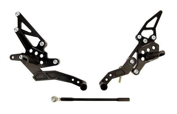 Driven Racing TT Rearsets For 2014-2017 Yamaha FZ07 / MT07
