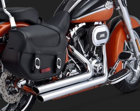 Vance & Hines Big Shots Staggered Full Exhaust System 1986-2011 Harley-Davidson Softail [17921 / 47921]