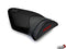 LuiMoto Motorsports Edition Seat Cover 10-2011 BMW S1000RR - Black Suede